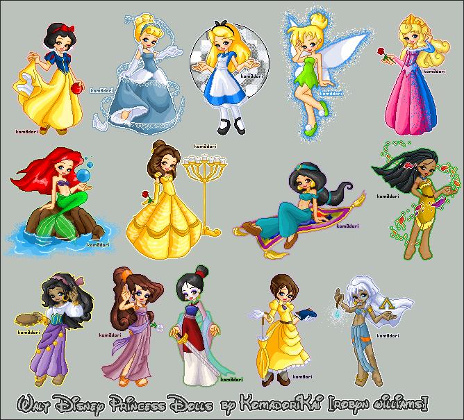 Dessin animee page 10 - Toutes les princesse disney ...